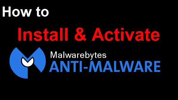 Activate Malwarebytes